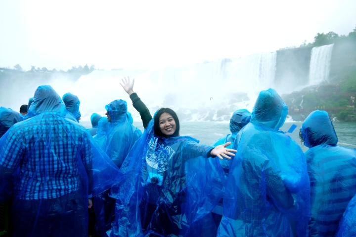 Maid of the Mist on a Rainy Day